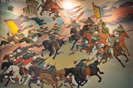 War painting 報道画像