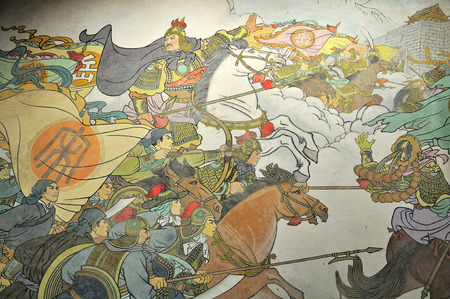 Painting of Yue's soldiers 新聞圖片