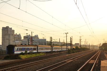 railway station: Jinhua railway station