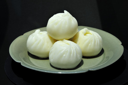 steamed: Small Steamed buns
