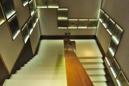 bang: stairs at  Hang Bang museum