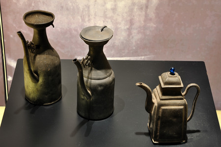 bang: teapot at  Hang Bang museum Editorial