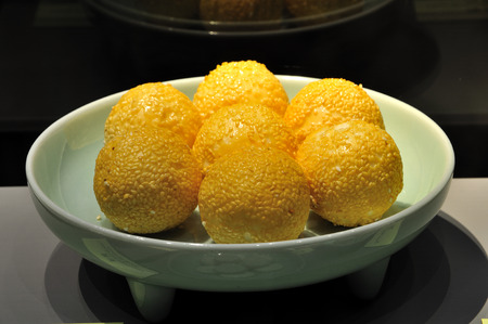 bang: Sesame Ball, hangzhou dishes at Hang Bang museum
