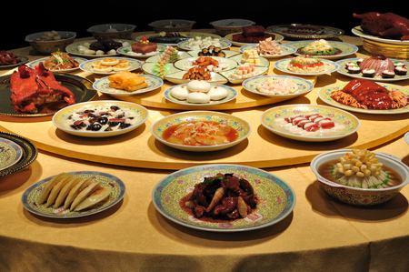 bang: hangzhou dishes at Hang Bang museum Editorial