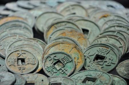 antiquarian: Ancient copper coins Editorial