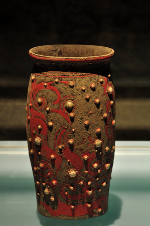 lacquer ware: Jade lacquer displaying in a museum