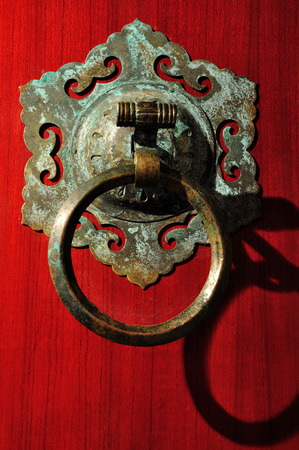 The ancient door knocker