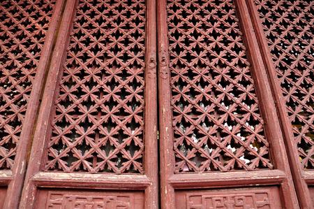 wooden doors: Wooden doors Stock Photo