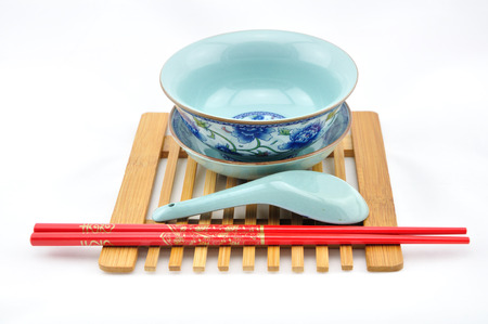 porcelain: Porcelain tableware