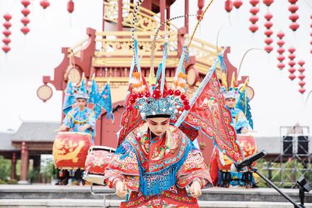 Chinese Peking opera characters