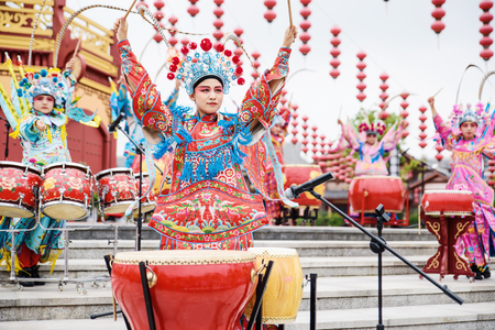 peking: Chinese Peking opera characters