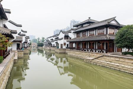 changzhou river architecture scenic