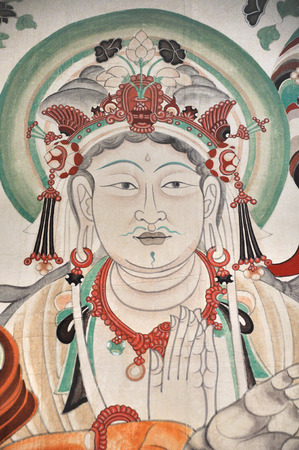 portraiture: Mogao grottoes in Dunhuang murals