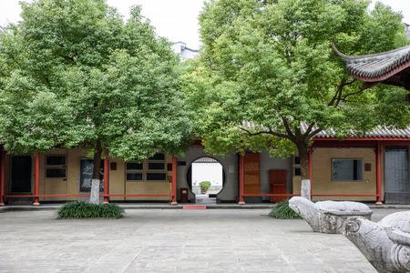 confucian: Hangzhou Confucian Temple Editorial