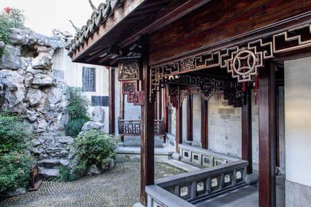 Jiangnan garden at Huxueyan Former Residence Editorial