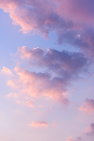 View of cloud during evening 写真素材