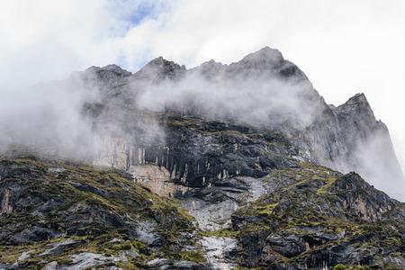 高地の風景ビュー