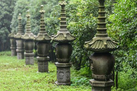 寺院の尖塔