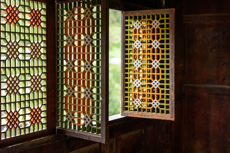 Wooden window panels