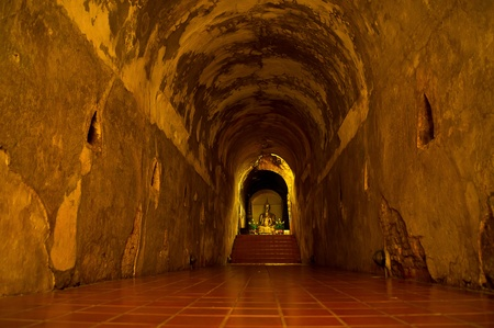 buddah: buddah at the end of the tunnel Editorial