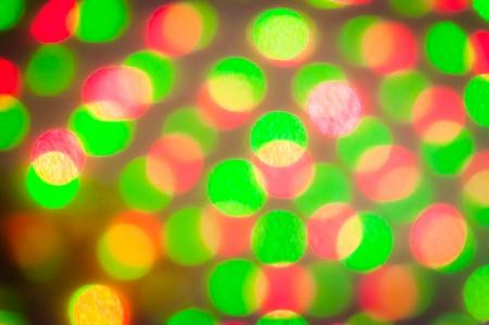 Colorful of light Bokah blur of led light