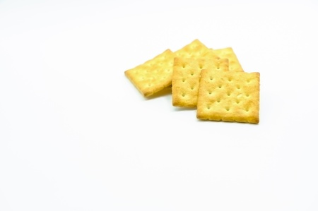 Biscuits isolate Sort on white back ground