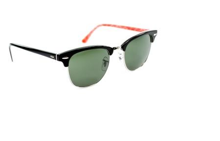 protective eyewear: Two tone sun glass vintage style isolate on white background