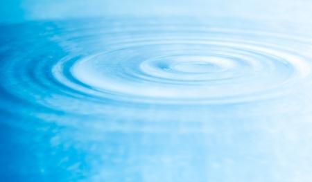 blauwe water rimpelingen achtergrond
