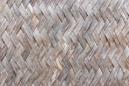 texture and pattern of old bamboo background Stock Photo