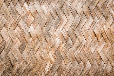 textuur en het patroon van oude bamboe achtergrond