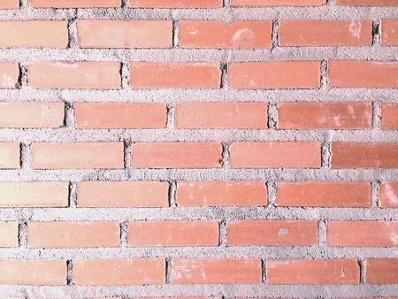 Textuur van oude bak stenen muur achtergrond
