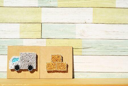 Track-corrugated cardboard