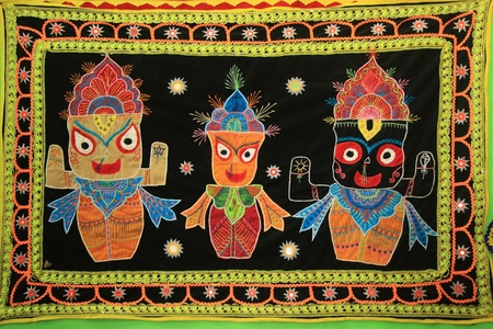 Jagannath or Jagannatha is a Hindu god worshipped primarily by the people of Indian states of Odisha and Bengal photo