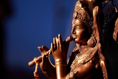 krishna: Krishna tenue flûte