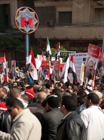 egypt revolution: CAIRO – JAN 25: Thousands of Egyptians gather in Cairo