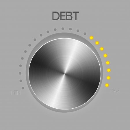 Debt controller knob photo