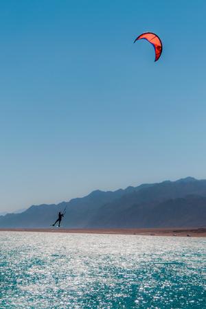 Kite surfing in Dahab Egypt