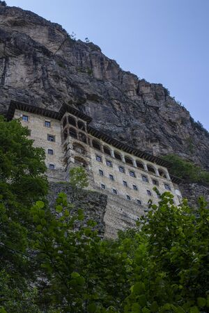 Sumela Monastery Nestled in a steep cliff at an altitude of about 1,200 metres facing the Altındere valley, it is a site of great historical and cultural significance The Monastery is one of the most important historic and touristic venues in Trabzon.