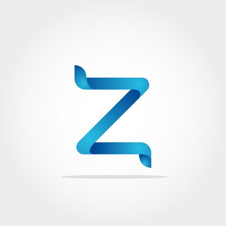 Initial Letter Z Logo Template
