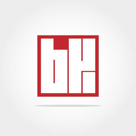 Initial Letter BK Logo Design