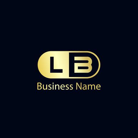 Initial Letter LA Logo Template Design Ilustração