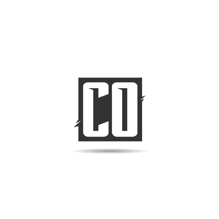 Initial Letter CO Logo Template Design