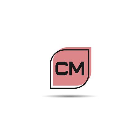 Initial Letter CM Logo Template Design Logo