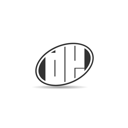Initial Letter DK Logo Template Design Logó