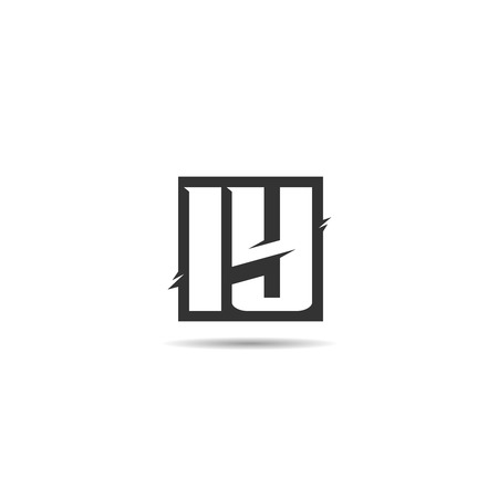 Initial Letter IY Logo Template Design