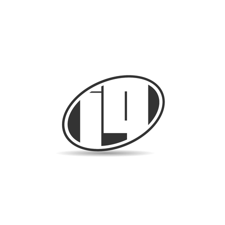 Initial Letter IQ Logo Template Design Stok Fotoğraf - 109594591