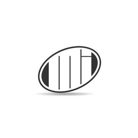 Initial Letter MI Logo Template Design Banco de Imagens - 109604473
