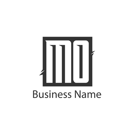 Initial Letter MO Logo Template Design