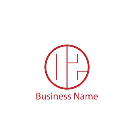 Początkowa litera OZ Logo Szablon projektu .