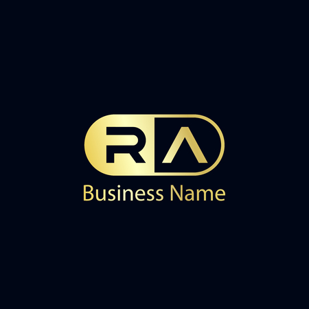 Initial Letter RA Logo Template Design Logo